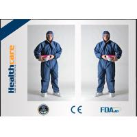 Quality Medical Surgical Disposable Protective Coveralls PP Non Woven Workwear Uniform for sale