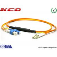 Quality Mode Conditionning Fiber Optic Patch Cord / Mpde Conditional Patch cable / Single mode to Multimode Patch Cord for sale