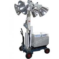 Quality 4 x 1000W Mobile Lighting Towers , 9m Mast , 5KW generator for sale