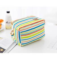 Quality Pattern Printing Insulated Lunch Bags High Strength Polyester Materials for sale