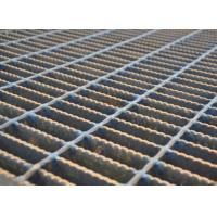 Quality Mesh Drain Cover Serrated Steel Grating Silver Color Heavy Duty Load for sale