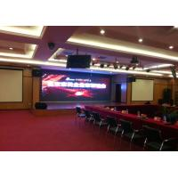 Quality P4.81mm Conference Concerts stage background led display Rental , Ultra Thin for sale