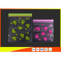 Quality Ldpe Resealable Small Colored Lip Printed Custom Zip Lock Bag for sale