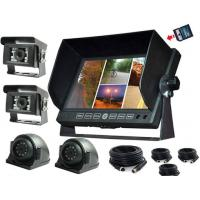 Buy cheap 7 inch LCD security Car Rear View Monitor DVR with 32G SD Card for Van product