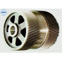 Quality Machined Industrial Stainless Steel / Brass Double Helical Gear High Precision for sale