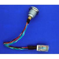 China Male To Male Custom Power Cables , 1K 8 Pin Sleeved Power Supply Cables on sale