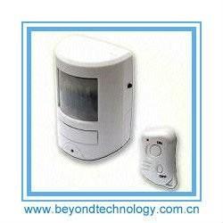 Quality 130 Decibel Siren Wireless PIR Motion Sensor Alarm With Remote Control for sale