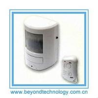 Buy cheap 130 Decibel Siren Wireless PIR Motion Sensor Alarm With Remote Control from wholesalers