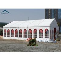 Buy Windproof Outdoor Event Tents With Aluminium Frame And Clear Windows at wholesale prices