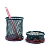 Quality Metal Crafts, Pen Holder, Office Stationery (B3341 B3345) for sale