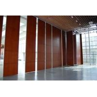 China Panel 65 mm Sliding Door Folding Soundproof Room Divider Conference Hall Folding Partition Wall on sale