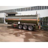 Quality 30 Tons Hydrochloric Acid Chemical Tanker Truck 28600 Liters 3 Axle Chemical Tank Trailer for sale