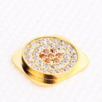 Quality Gold Diamond Home Button For iPhone 5 for sale