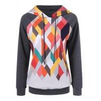 China OEM Custom Womens Sports Hoodies wholesale sports clothes with thin embossed pattern on sale