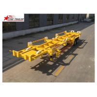 China 2 Axles 20ft Terminal Trailer High Strength And Strong Bearing Capacity on sale