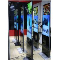 Quality Standing Style Ultra Slim IR Touch Screen Kiosk With Advertising Playing Display for sale