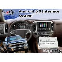 Quality Chevrolet Silverado Android Navigation Interface for 2015-2018 Mylink System Mirrorlink Waze YouTube for sale