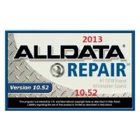Quality Repair data ALLDATA 2013.10.53 Automotive Diagnostic Software for sale