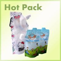 Buy BPA Free Stand Up Baby Food Squeeze Spout Pouch With Zip Lock Child Resistant at wholesale prices