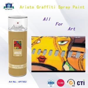 China Multi Color Acrylic Art Aerosol Graffiti Spray Paint for Metal / Plastic / Wall Surface on sale