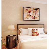 Quality Solid Color Washable Modern Removable Wallpaper Economical PVC Wallpaper for sale