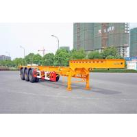Quality Gooseneck Container Trailer Chassis For 40 Feet Shipping Container for sale