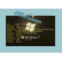 Quality 100 % Useful Windows 7 Ultimate Oem Key Fast Maximization No Language Limited for sale