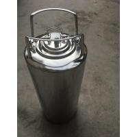 Quality Mirror Polished 5 Gallon Corny Keg , Cornelius Soda Keg Reliable Seal Condition for sale