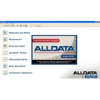 Quality Universal Car Diagnostic Software Alldata Version 10.50 for sale