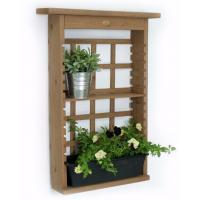 Quality Contemporary Decorative Outdoor Furniture Plant Wall Shelf Modern Shelving Unit for sale