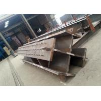 Quality Welded Cross-section Steel Crossing Column Structural Steel Fabricators for sale