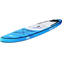 Quality Blue PVC 3 Fin 340*81*15cm All Round Inflatable SUP for sale