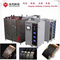 Quality Magnetron Sputtering Gold Plating Machine / IPG Gold and Black DLC Vacuum Coating Plant for sale