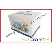 Buy Fashion Coated Paper Board Box, Rectangle Printed Rigid Gift Boxes For With Custom Logo at wholesale prices