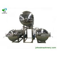 Quality industrial semi-automatic electric autoclave sterilizer machine for bottles/pouches/bags/canned food for sale