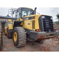 Quality Second Hand Front Komatsu Compact Wheel Loader WA380-6 A/C Cabin 2014 Year for sale