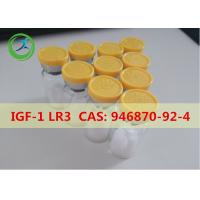 Buy cheap Medicine Grade White powder IGF-1 LR3 Human Growth Peptides CAS 946870-92-4 product