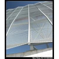 Quality aluminum expanded metal sunscreening for sale