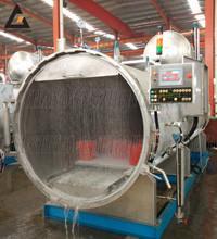 Meat products high temperature and high pressure retort sterilization machine