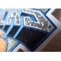 Hotfix Custom Embroidered Patches Rhinestone Motif Iron On Transfer For Hoodies