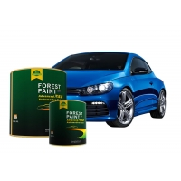 Quality Blue Fast Drying Solid White 1K Base Auto Refinish Paint for sale