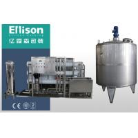 China Electric Drinking Water Filter System For Liquid Filling Equipment on sale