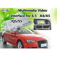Quality Audi Multimedia Interface Supports Rear View Camera , DVD , TV , DVR , Mirrorlink Optional for sale