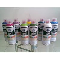 Quality Non toxic Eco-friendly Artist Aerosol Spray Paint for Wood / Plastic / Metal Surface for sale