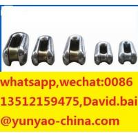 Buy Rated Load 10~320kN Highly Tensile Galvanized Steel Connectors Transmission Line Stringing Accessories Tools at wholesale prices