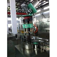 3 In 1 Carbonated Drink / Beverage Glass Bottle Filling Machine 3000bph Fully Automatic