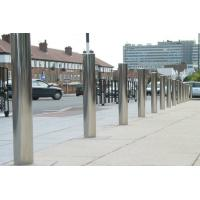 Quality 304 / 316 Stainless Steel Bollards Good Corrosion Resistance Not Rust / Deform for sale
