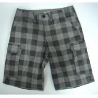 Quality Man Check Cargo Bermuda/Shorts 3014 for sale