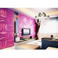 Quality Anti-Vibration Wall Background Modern 3D Wall Panels for Living Room / Bedroom Decoration for sale