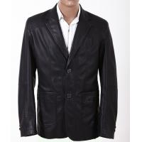 China New Men's Western Blazer / Jackets, Classic and Fashionable Mens Leather Suits on sale